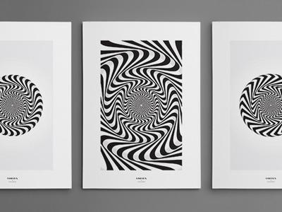 Vortex Art Prints art print decoration fashion print illustration kickstarter poster art
