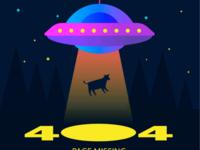 404 page UFO