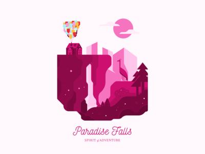 Paradise Falls   Spirit of Adventure