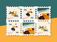 Toucan Stamps #2