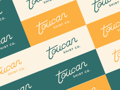 Toucan Logo Colorboard