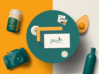 Toucan Behance Presentation is OUT!