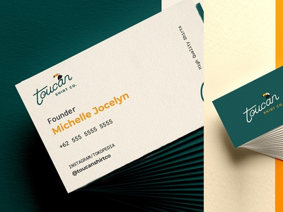Business Cards For Toucan | Toucan Shirt Co.