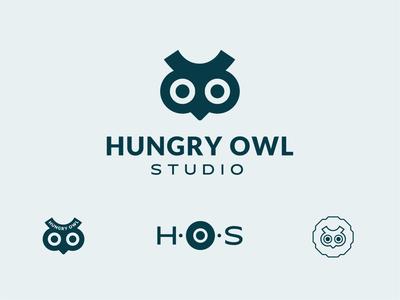 Logo Set | Hungry Owl Studio