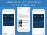 Coins Detailed Screen Of Cmf Android App