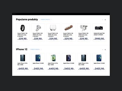Galeria Cen - Home design web responsive grid ui ux products