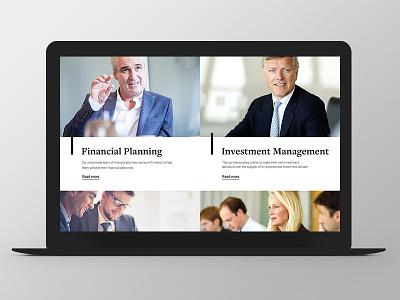 Tilney - Website Redesign big photos finance redesign grid responsive ux ui
