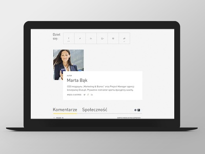 Marketing i Biznes Website Design web responsive grid ux ui