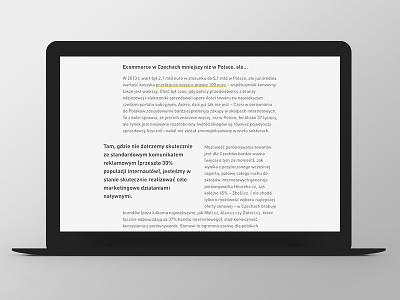 Marketing i Biznes Website Design article website web responsive grid ux ui