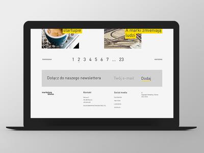 Marketing i Biznes Website Design