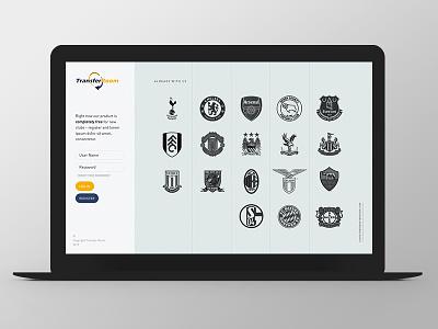 TransferRoom Second Line design ux grid ui web website