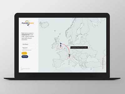 TransferRoom Second Line grid ui ux web website