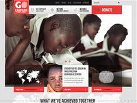 go campaign webdesign