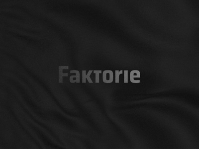 Faktorie typography brand elements branding design branding logotypes logotype logo