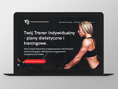TIO - website design website logo fitness button web responsive grid ux ui