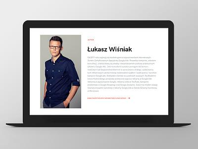 LW ux ui responsive grid website web author design
