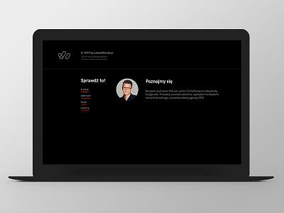 LW footer design links logo footer design website web responsive grid ux ui