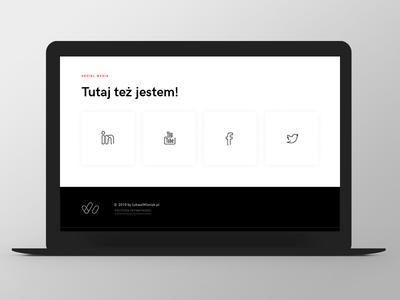 LW logo icons social icons button design website web responsive grid ux ui