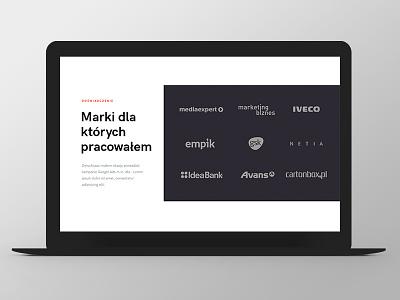 LW logotypes website web responsive grid ux ui