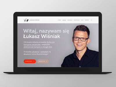 LW logo button design website web responsive grid ux ui