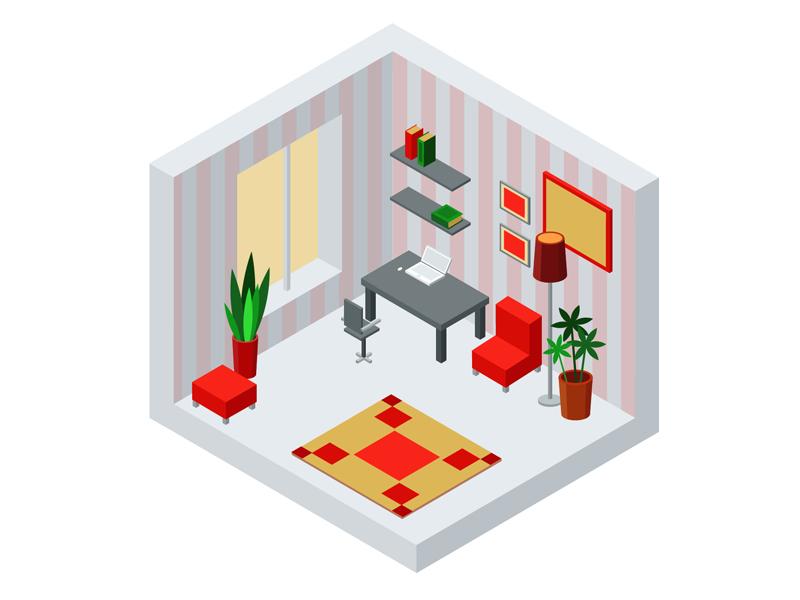 Isometric Apartment apartment isometric isometric apartment