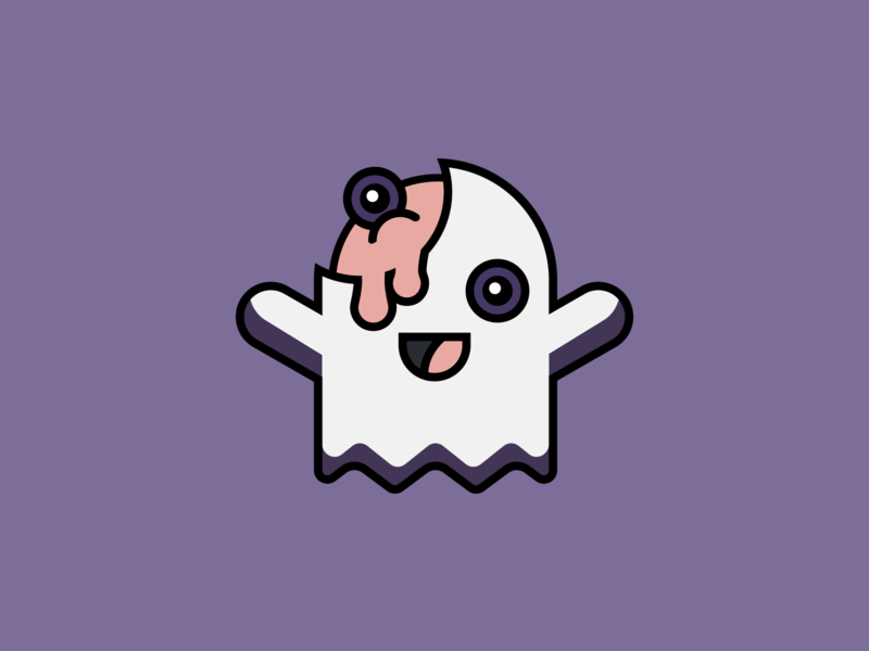 Happy Ghost Zombie ghost halloween zombie