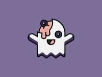 Happy Ghost Zombie
