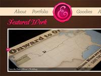 Portfolio Redesign: Featured Work Slider