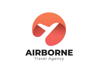 Airborne Travel Agency Logo