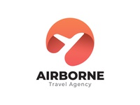 Airborne Travel Agency Logo