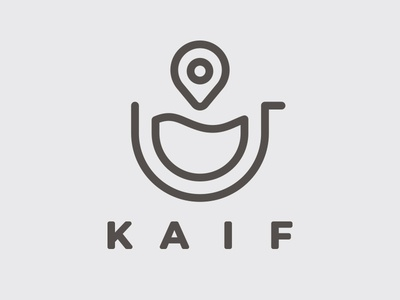Kaif Coffee Delivery Branding