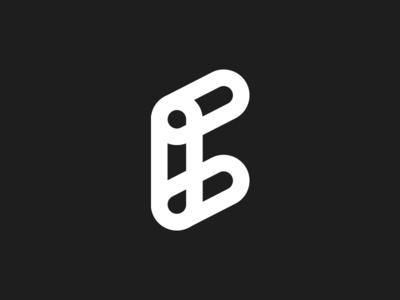 E logomark for sell
