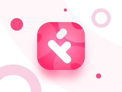 Feedny App Logo application playstore icon ui ux design gradient color icons appstore icon android letter f letter f icon brand ui flat illustration app logo app branding minimalistic vector logo