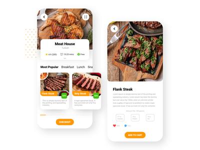 Restaurant Food Ordering App UI