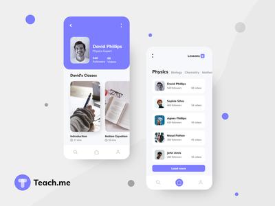Education | Study | Course App UI