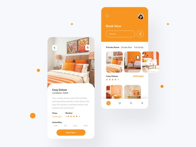 Hotel Room Booking UI