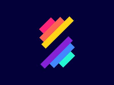 S Lettermark logo