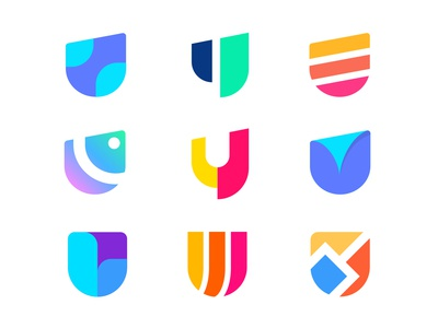 U lettermark Logo