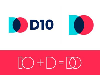 D + 10 Logo Design