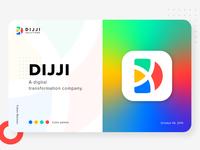 DIJJI / D letter / d+x Logo Design