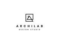 Archilab architecture design studio logo design