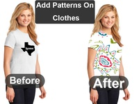 Add Patterns On Clothes