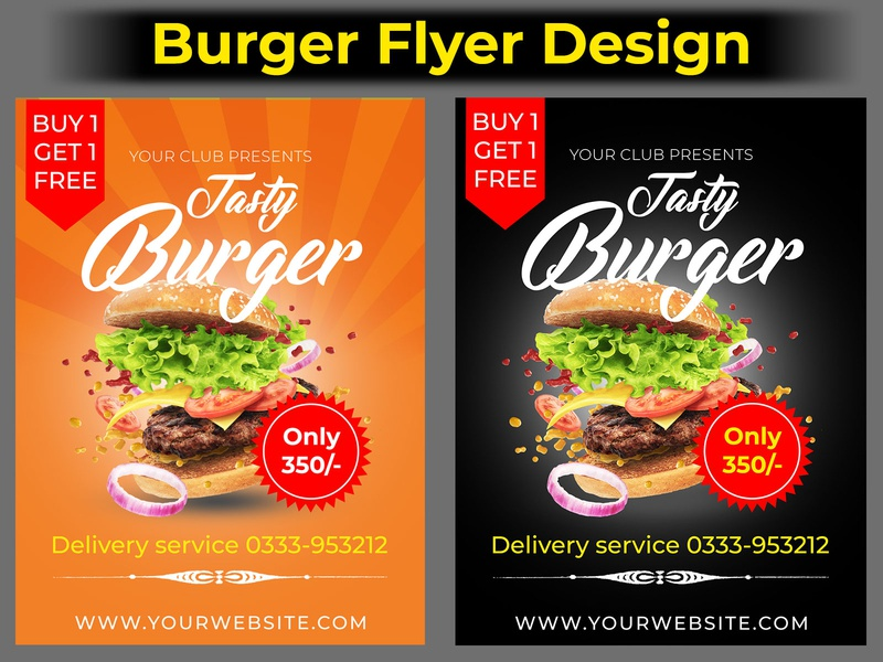 burger flyer design ux actions ui branding typography sketch icon logo vector app businessfinance fiverr illustration android app design abstract ios screenshot photoshop design