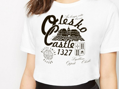 T-shirt Olesko Castle