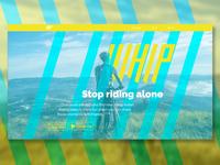 DailyUI 003 - Whip landing page