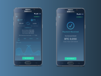 Cryptocurrency App | Confirmation Screen