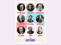 Russian Composers | Poster Series