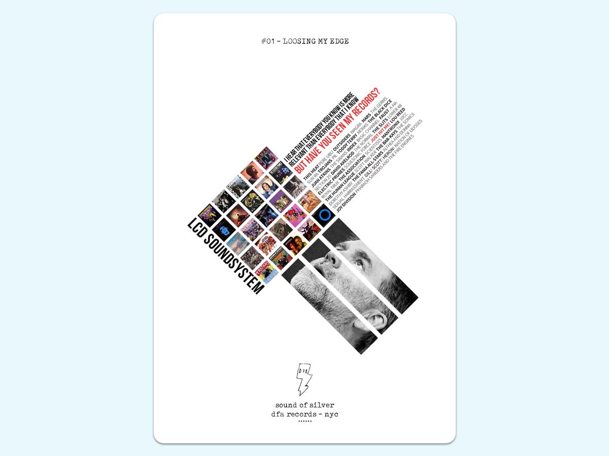 LCD Soundsystem | Poster Series music artwork music art poster collection poster challenge poster art poster a day lcd soundsystem lcd collage music poster
