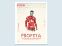 Football Poster: Hernanes Profeta