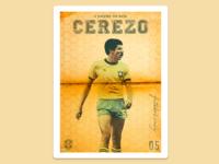 Football Poster: Toninho Cerezo
